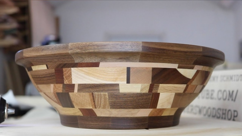 I turned my wood scraps into a bowl