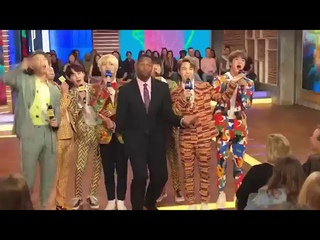 (180926) BTS (방탄소년단) Behind the Scene @GOOD MORNING AMERICA