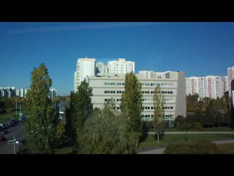 Южное Бутово - из окна надземного метро!