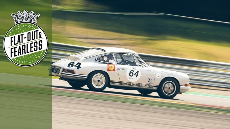 60s Porsche 911 slides round spa for epic pole lap | on board