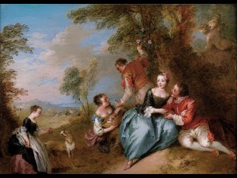 Jean Baptiste Pater (1695-1736) ✽ French rococo painter