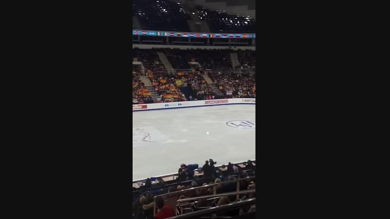 Минск арена приветствет Фернандеса