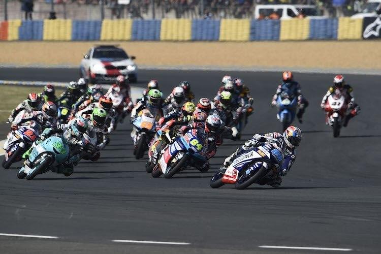 Результаты Гран При Ле-Мана 2018 в категории Moto3