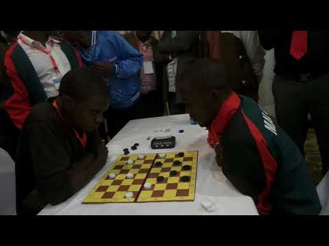 2nd African Draughts-64 Championship. Rapid