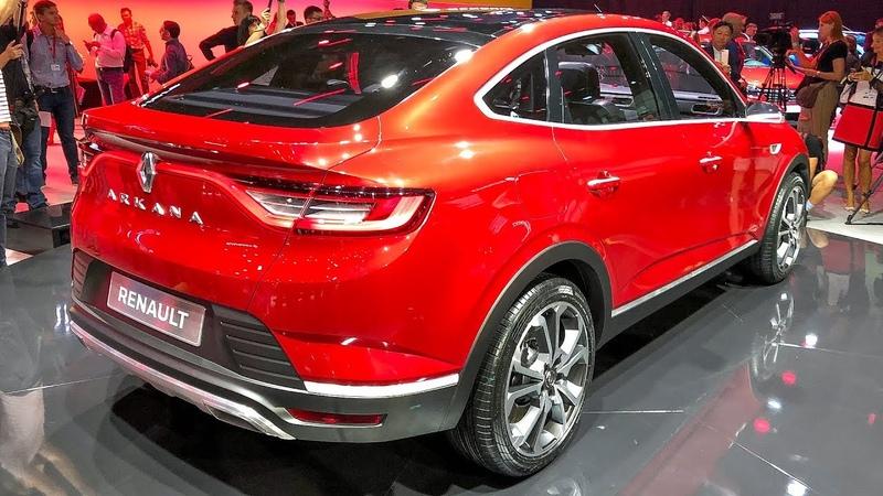 2020 Renault Arkana SUV Walkaround and Unveiling