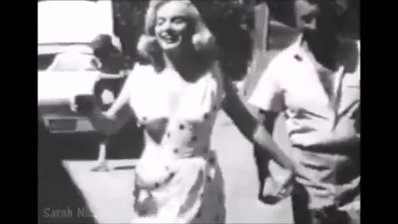 Мэрилин Монро на съемках фильма Неприкаянные 1