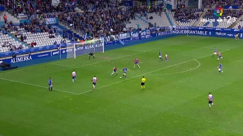 Реал Овьедо - Гранада CF, 2-1, Сегунда 2017-2018, 31 тур