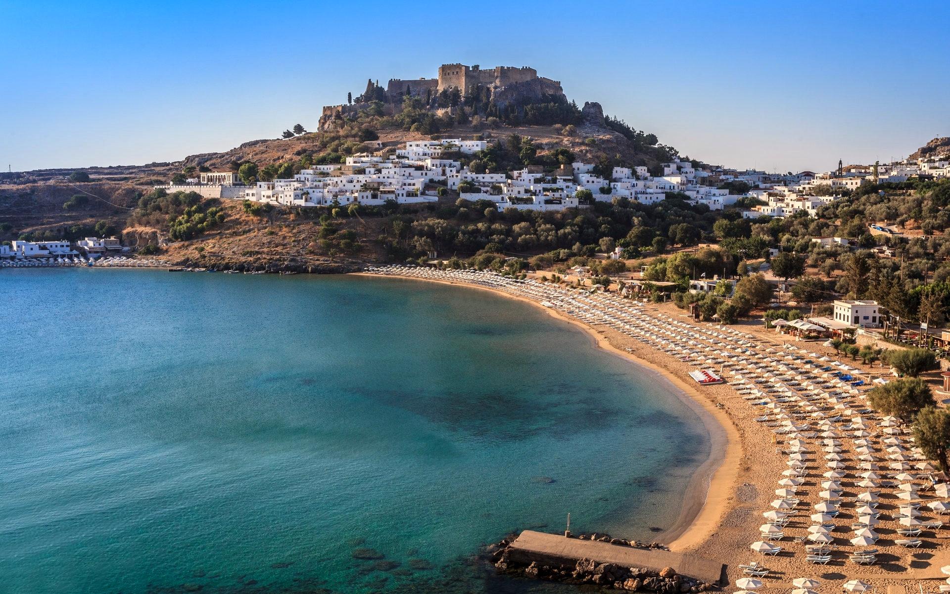 Греческий город Родос