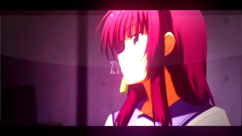 Music: Don't care sending u ❤ ★[AMV Anime Клипы]★ \ Angel Beats \ Ангельские ритмы \