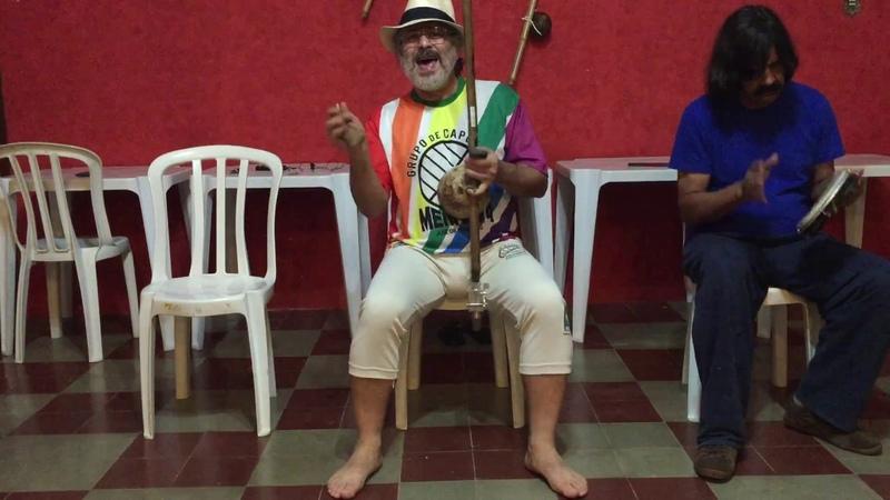 UNICAPOEIRA: Meia Lua/26abr62. Clube Cultural Tiguera. Mestres Polêmico, Professor e Pintor. 04jul18