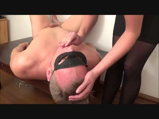 BDSM facesitting and mouth squirting