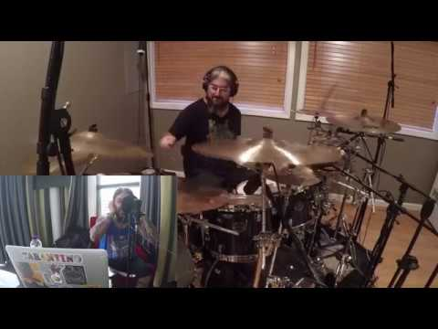 Mike Portnoy Drum ( MP Vox) Cam - Neal Morse Band - Welcome To The World