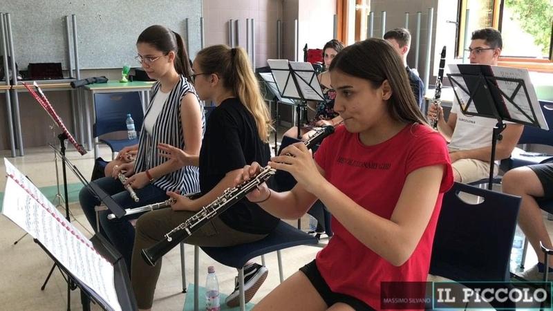 A Duino le prove della European Spirit of Youth Orchestra