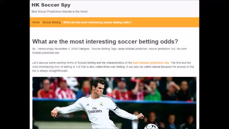 What are the most interesting soccer betting odds