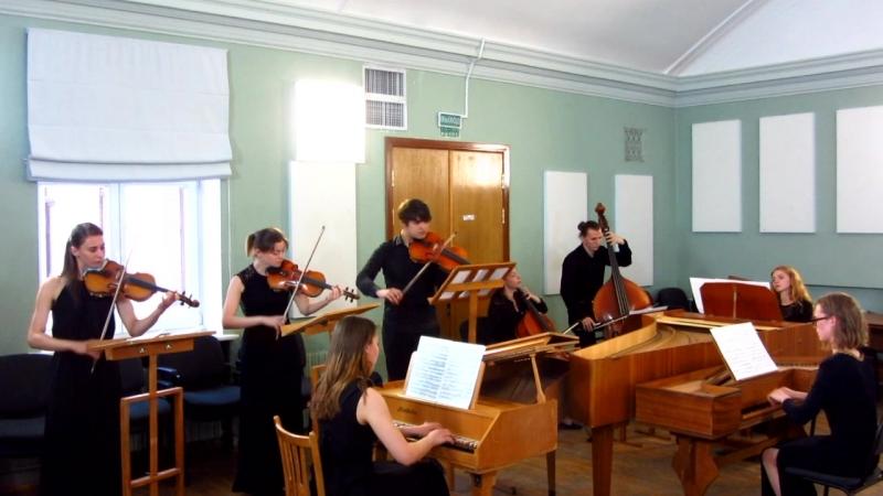 MVI_1671 - И.С. Бах. Концерт для 3-х клавесинов № 1 ре минор, BWV 1063.