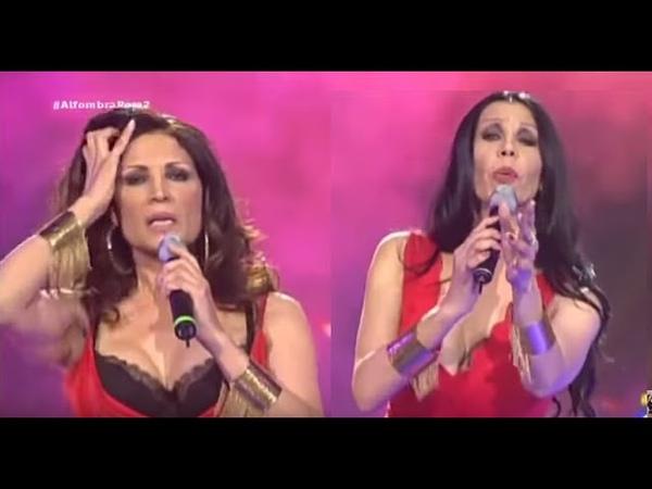Azúcar Moreno - Devórame otra vez (Gala La Alfombra Roja, TVE, 2015)