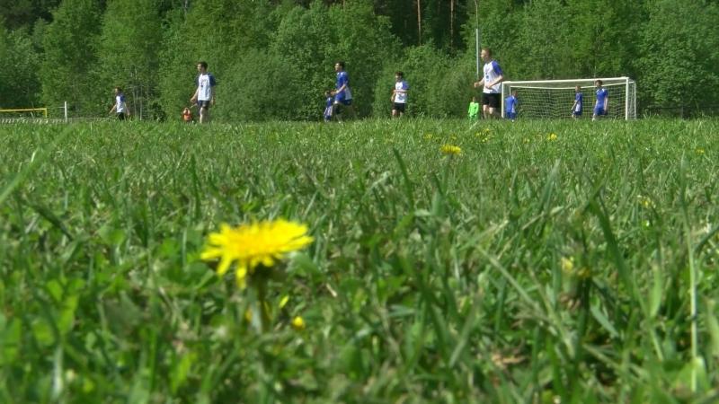 «Звездный» и «Гагаринский» играют в футбол. 20.06.18
