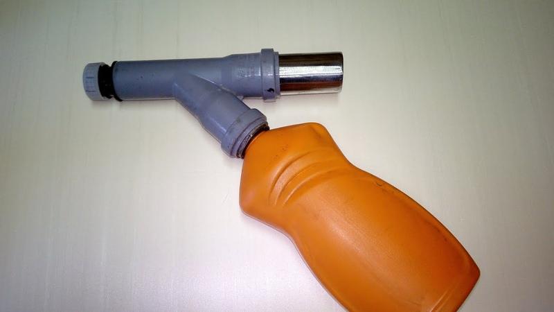 Самодельный КРАСКОПУЛЬТ низкого давления (Пульверизатор).