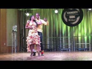 Oncle kani & blackcherry  dance show 2018 (100 % africa)  mutuashi, ndombolo, kizomba, semba