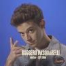 """Ruggero Pasquarelli on Instagram: """"Hoy llegò el fin de un proyecto que me hizo aprender muchísimo. 🤧 Entrar en el...fue una decisión en mi vida muy..."""