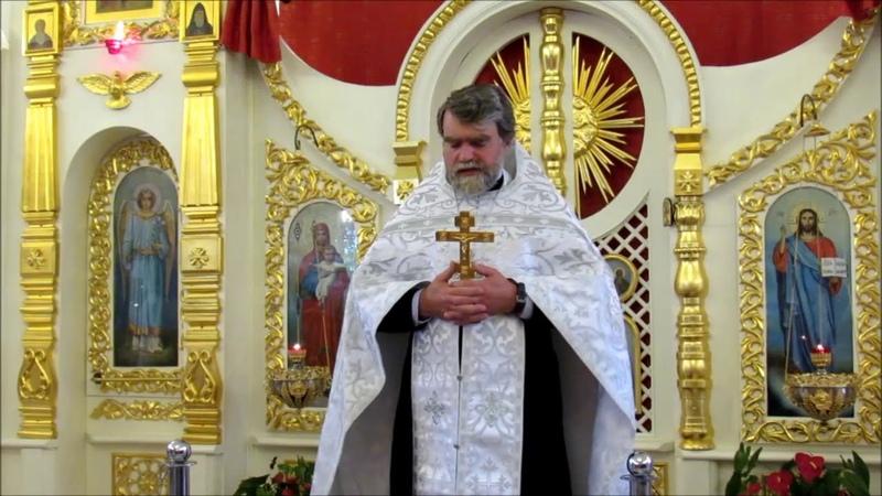 Проповедь протоиерея Романа Гуцу в Неделю 13-ю по Пятидесятнице
