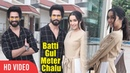 Shahid Kapoor And Shraddha Kapoor Start Promotion Of Batti Gul Meter Chalu at Mumbai