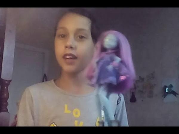 Обзор моей куклы Монцтр хай
