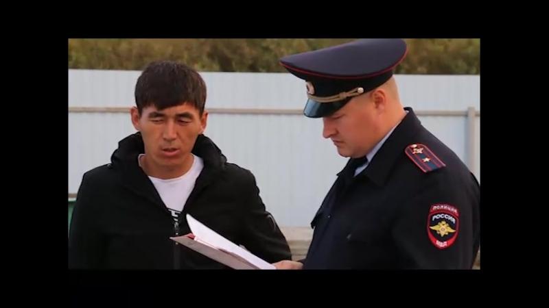В Тюмени полицейские задержали автобус с нелегалами