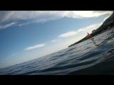 #Гурзуф сегодня с моря 31.07.18