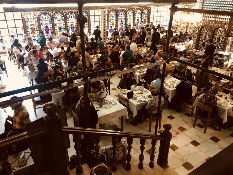 Путешествие в иран часть 9. ресторан Shahrzad