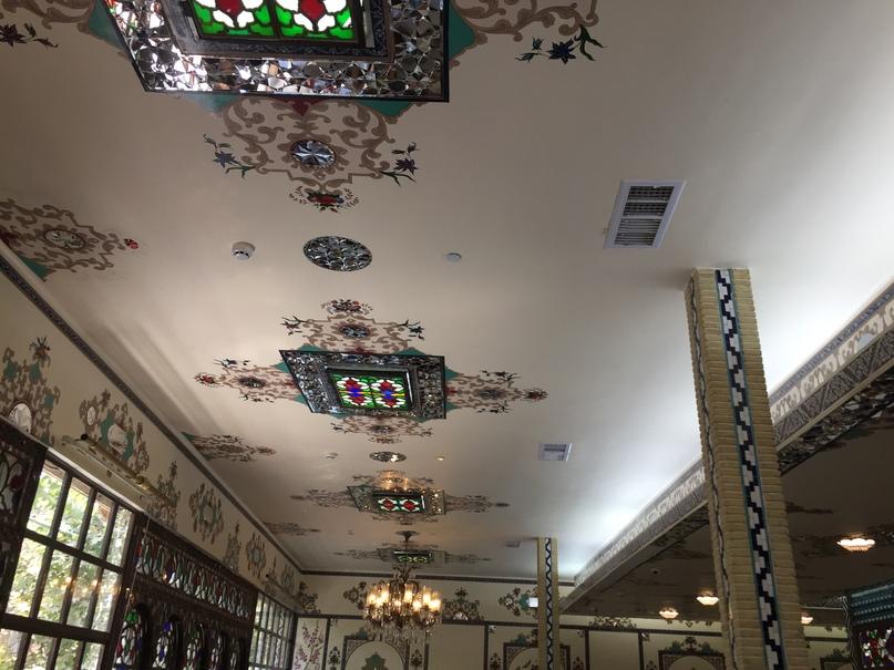 Путешествие в иран часть 9. Отделка ресторана Shahrzad