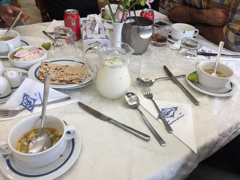 Путешествие в иран часть 9. Традиционный иранский обед