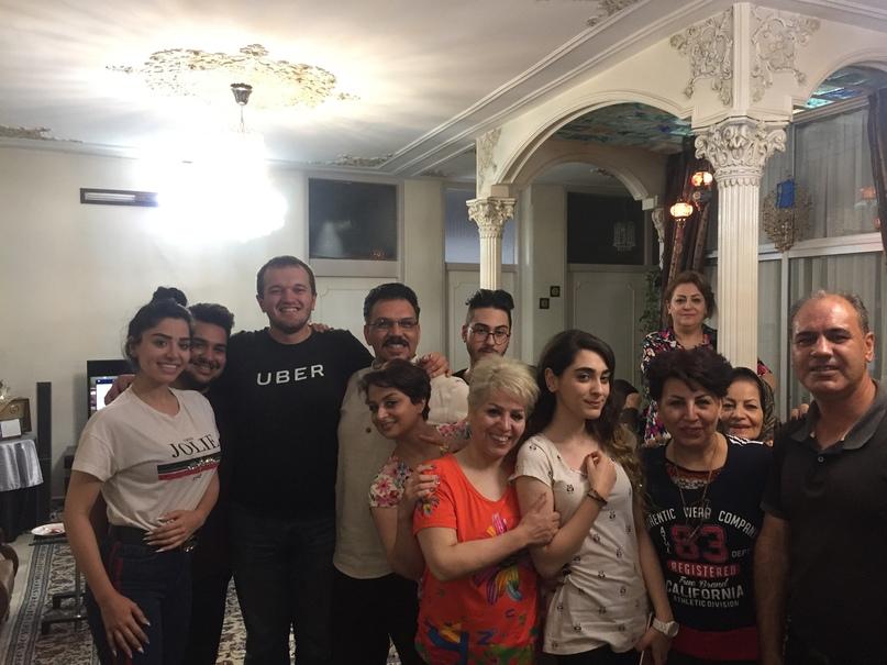 Путешествие в иран часть 9. Вся большая семья Сохейля
