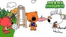 Новая серия Раскраска Ми-ми-мишки - Гол - развивающие мультики для малышей