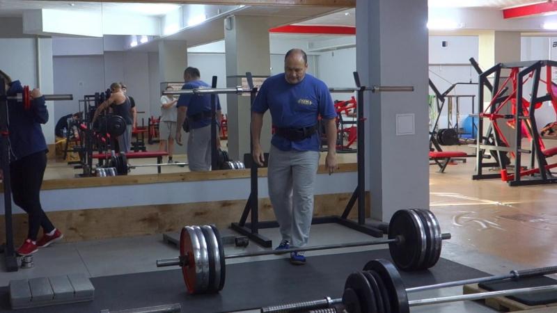 становая тяга (сумо) - 212,5 кг - 2 повт - 3 повт