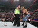 WWF RAW IS WAR 5.21.2001: Jeff Hardy Eddie Guerrero with lita vs Edge Christian