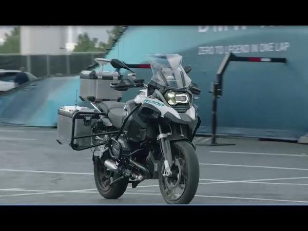 BMW CES 2019 kendi kendini süren Motosiklet BMW R 1200 GS