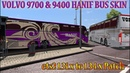Ets2 mods volvo 9700 and 9400 bus Hanif bus skin with 4 euro Special euro skin pack ai traffic1