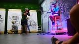 2018.06.22 Даниэль Еремзин &amp Рома Фолков на Art-Battle в Гнезде