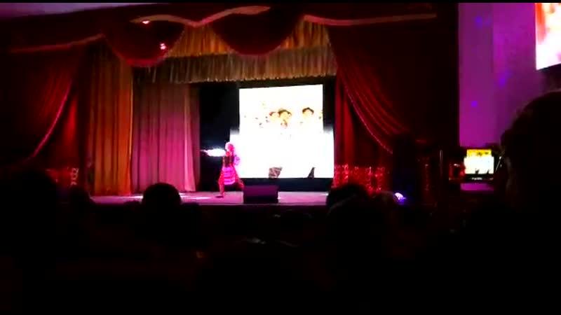 Выступление Новоковской Т.В. в 2-ом туре «🌷 Қызғалдақ көктем –2019»