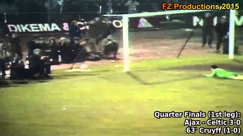 1970-1971 European Cup: AFC Ajax All Goals (Road to Victory)