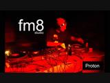 Live dj Proton at fm8 studio. 17 nov 2018.