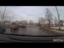 погоня ГИБДД за черным ВАЗом на улице Нехинской