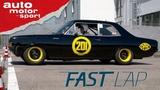 Opel Rekord C Die schwarze Witwe - Fast Lap auto motor und sport
