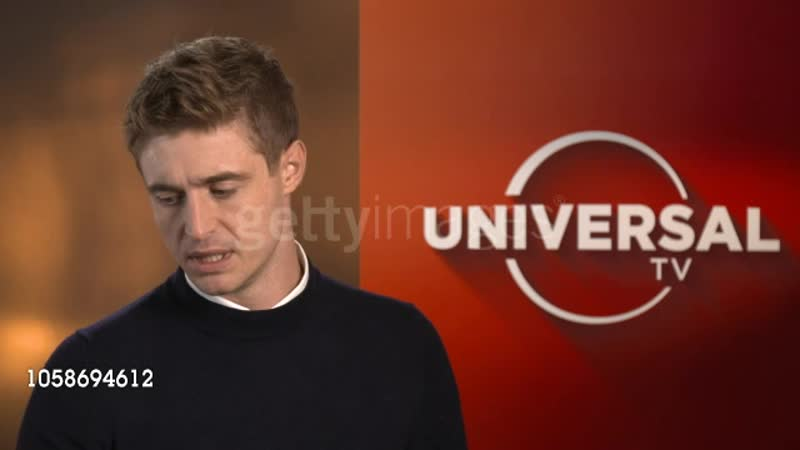 1 INTERVIEW Max Irons at Soho Hotel on October 09, 2018 in London, England.