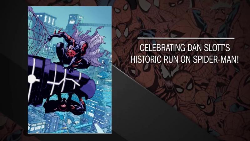 Удивительный Человек-паук прощается с сценаристом Дэнам Слотта