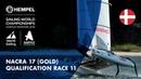 Full Nacra 17 Gold Fleet Qualification Race 11 | Aarhus 2018