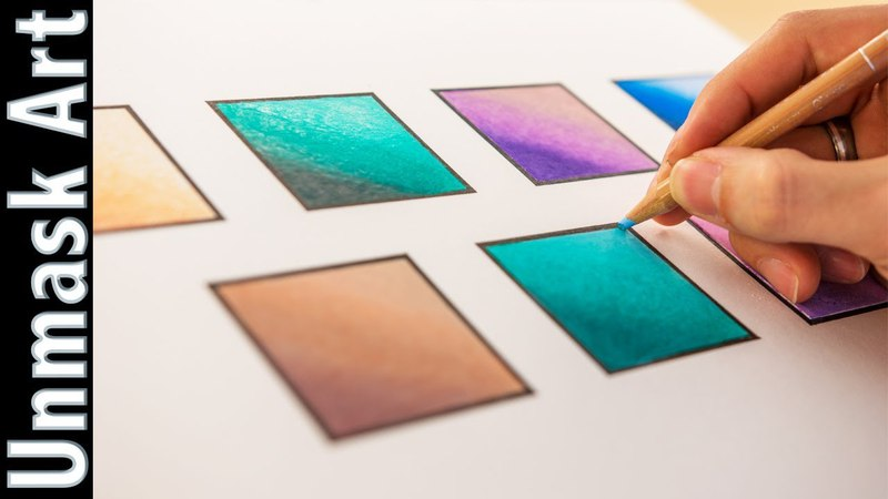 7 Ways of Blending Colored Pencils for Beginners