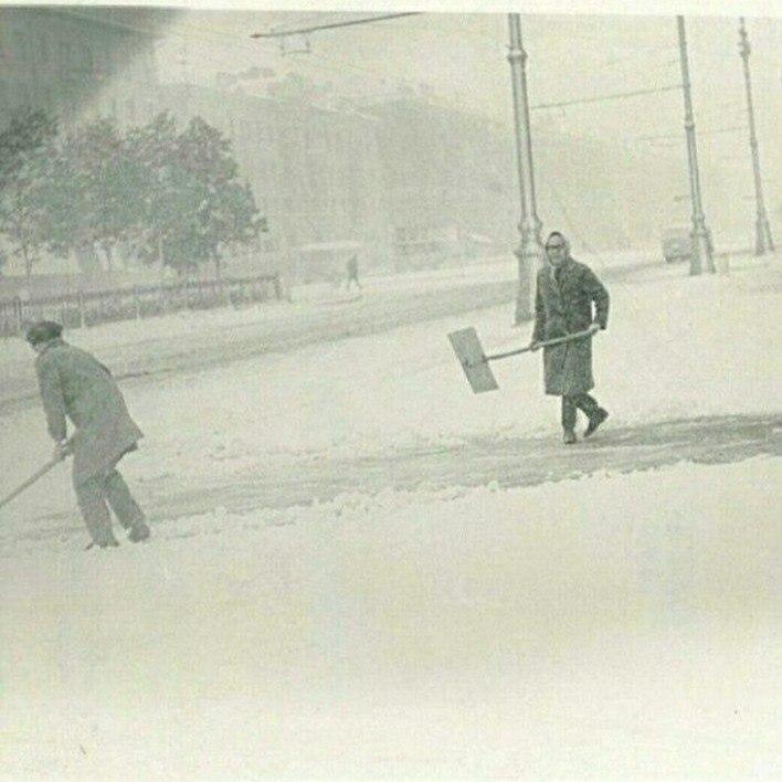 Снег 3 июнь 1967 Пермь Россия