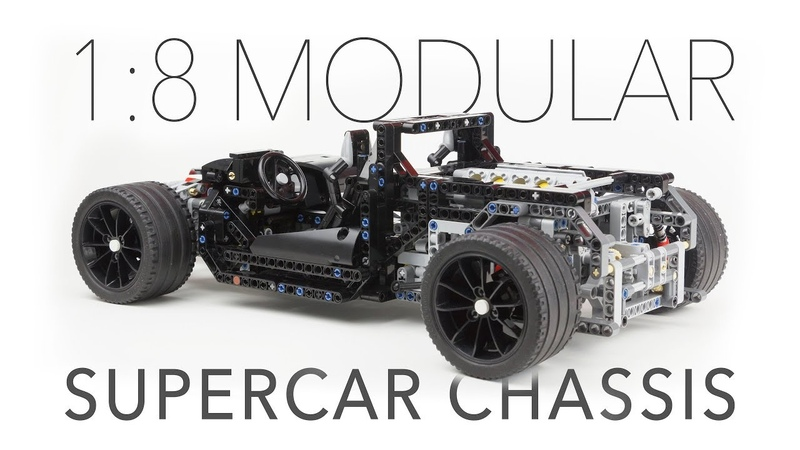LEGO Technic 18 Modular Supercar Chassis